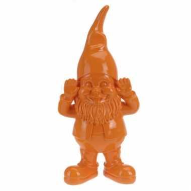 Oranje kabouter 28 cm