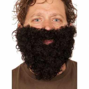 Zwarte kabouter baard